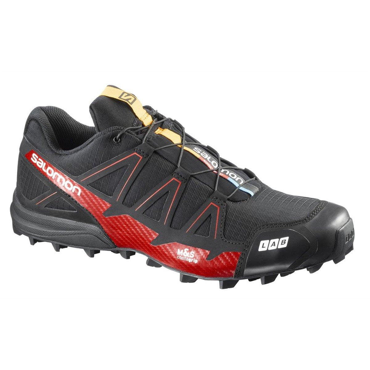 Salomon Unisex Erwachsene S/Lab Speed 2 Traillaufschuhe Schwarz 11 UK