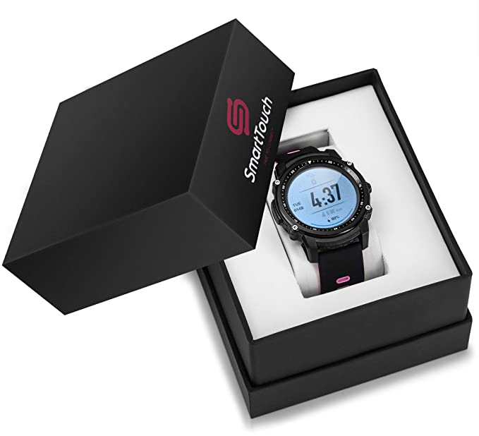 Smart Touch FS08 Swim Smart Watch (Android, iOS) Touchscreen, GPS Bluetooth Fitness Tracker | IP68 Waterproof Pedometer, Altimeter, HR Monitor | ...