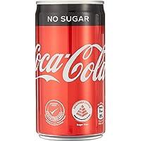 Coca-Cola Zero Sugar Mini Cans, 180ml (Pack of 12)