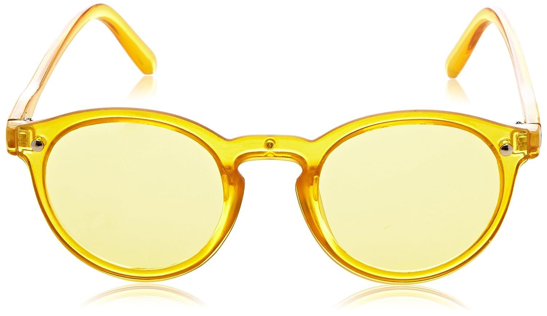 Ocean Unisex-Erwachsene Sonnenbrille Eye, Gelb (Giallo Trasparente), 58