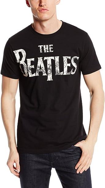 THE BEATLES Black t shirt for Men/'s