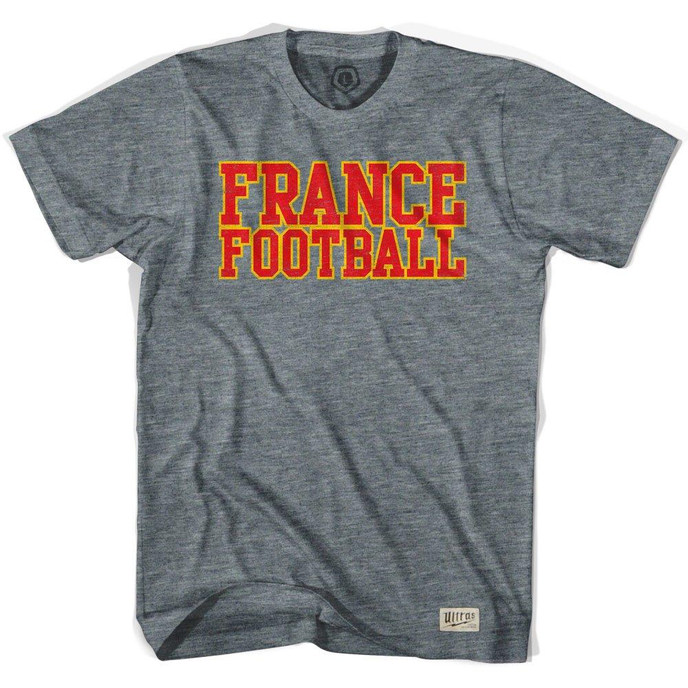 Nación de fútbol de Francia camiseta de fútbol Gris Athletic Grey large: Amazon.es: Ropa y accesorios