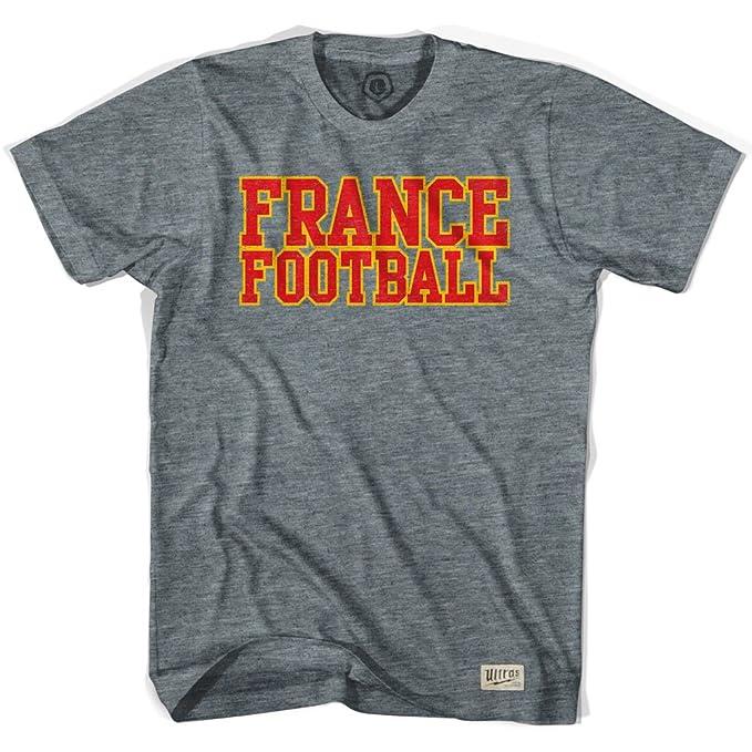 Nación de fútbol de Francia camiseta de fútbol Gris Athletic Grey large