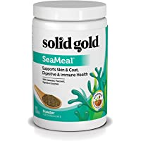 Solid Gold SeaMeal Kelp-Based Overall Wellness & Nutritional Supplement Powder for Dogs & Cats, All Ages, All Sizes, 1…
