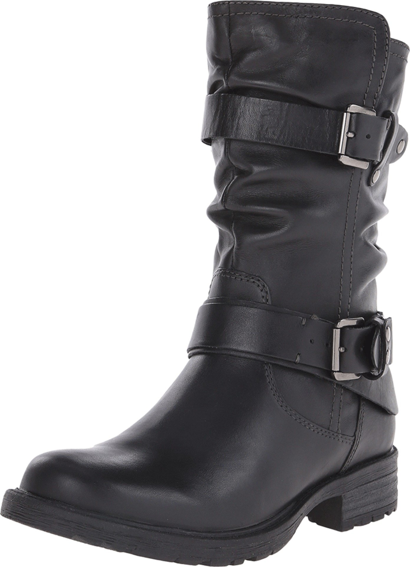 Earth New Women's Everwood Boot Black Leather 10 W by Earth