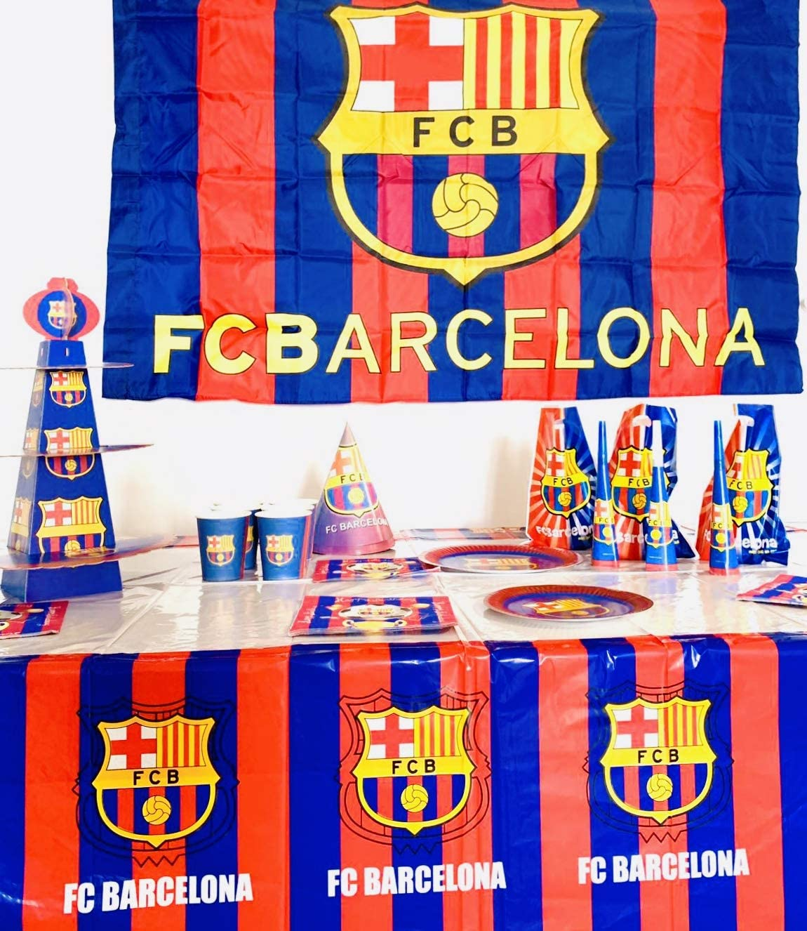 Amazon.com: FC Barcelona decoración de la fiesta de ...