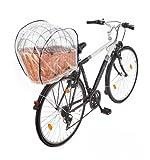 Tigana Regenschutzhaube für Hundefahrradkörbe in XL und XXL