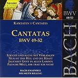 Edition Bachakademie Vol. 17 (Geistliche Kantaten BWV 49-52)
