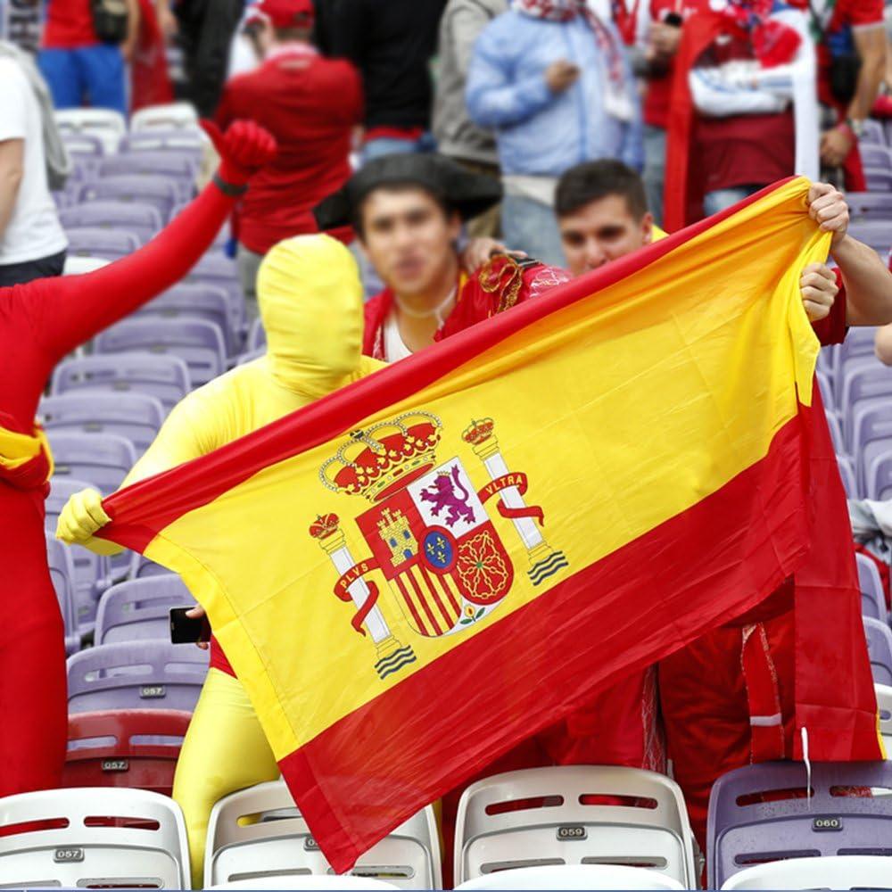 Bandera España Grande, 2Pcs Bandera Nacional Bandera Española, 90 ...
