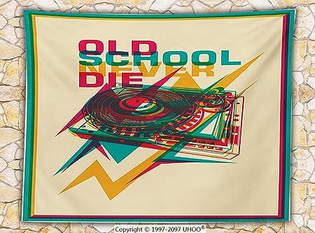 Vintage Decor manta de forro polar Pop Art estilo Old School ...