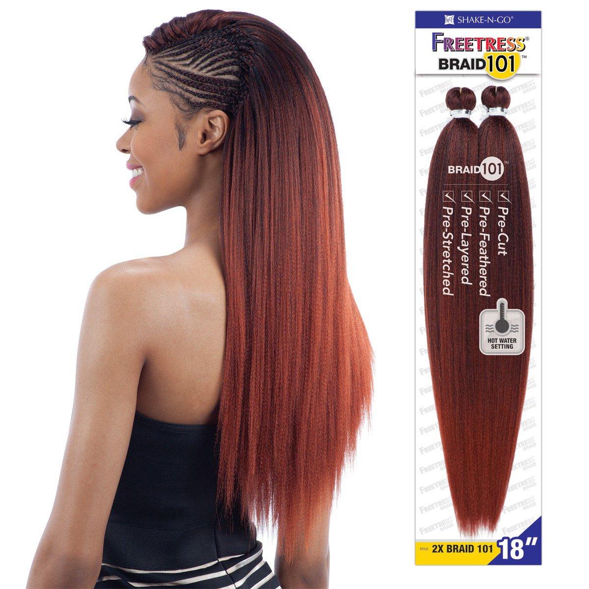 Amazon 2x Braid 101 18 T30 Freetress Synthetic Hair Jumbo
