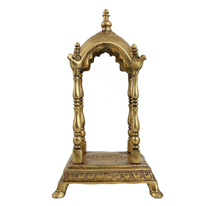 Hindu temple puja mandir sculptures for the home: Amazon.co.uk ...
