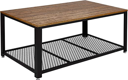 Meerveil - Mesa baja de salón, mesa de café, estilo vintage ...