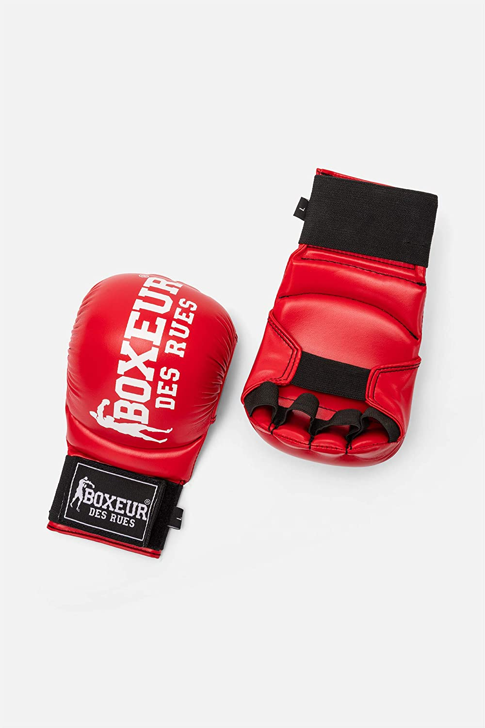 Karate And Fit-boxing Gloves In Black BOXEUR DES RUES Unisex