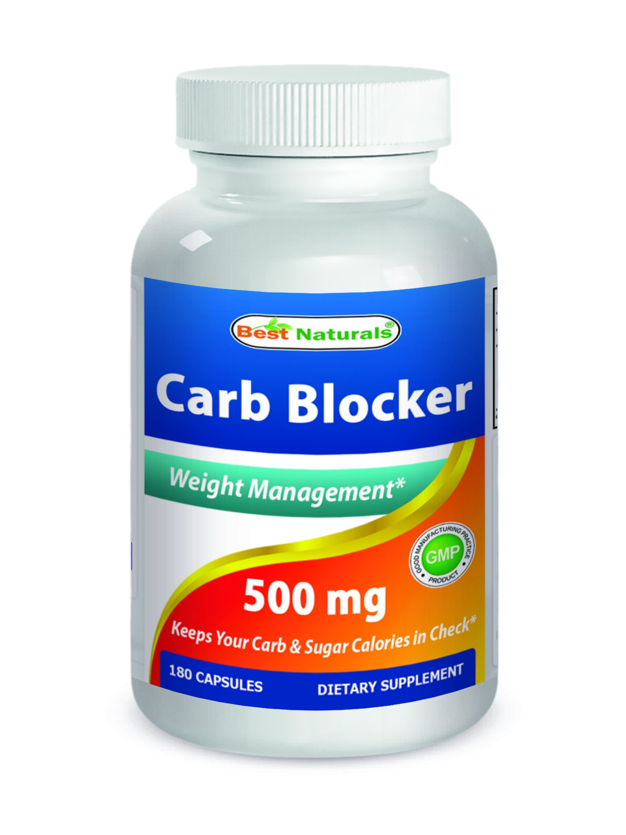 Best Naturals Carb Blocker 180 Capsules