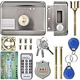 Cerradura electrónica de Puerta, Acceso electrónico ID de Sistema de Control Remoto Inteligente Cerradura de Puerta de…