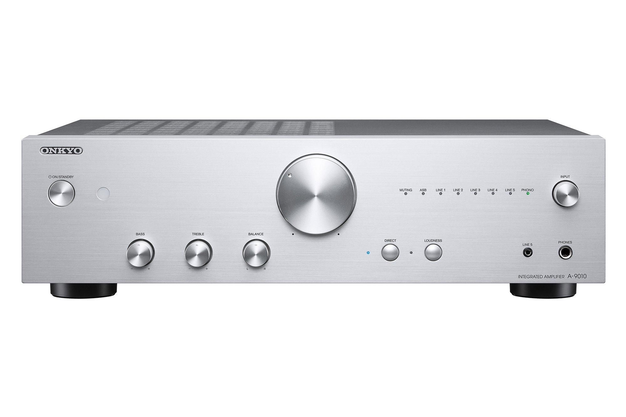 ONKYO Integrated amplifier 85W + 85W ONKYO A-9010 (S) (Silver) (Japan domestic model) by Onkyo