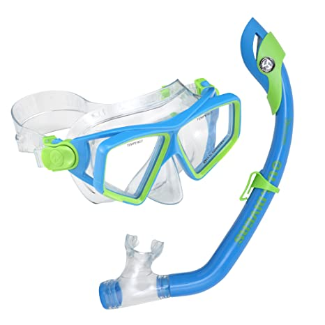 f90f55b73f Amazon.com   U.S. Divers Junior Lanai LX Mask and Paradise Dry ...