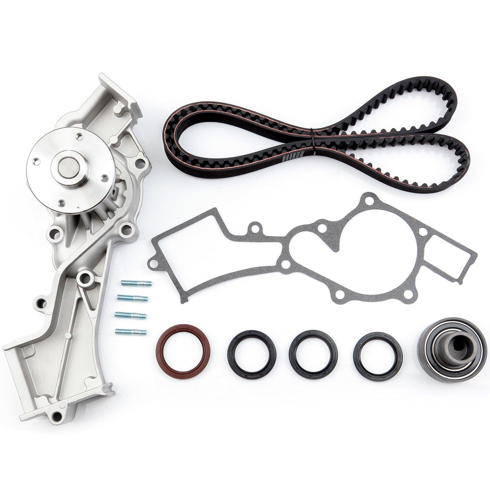 ECCPP Timing Belt Water Pump Kit Fit for 1999 2000 2001 2002 2003 2004 Nissan Frontier//2000 2001 2002 2003 2004 Nissan Xterra