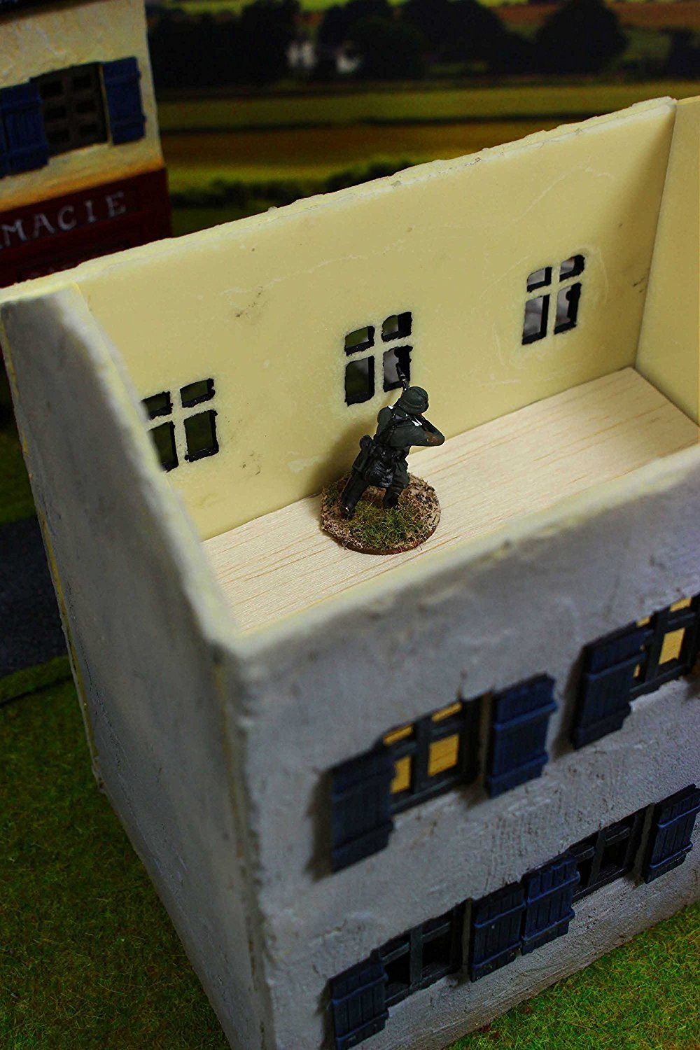 Amazon.com: Normandía Granja 28 mm WWII maquetas Modelo por ...