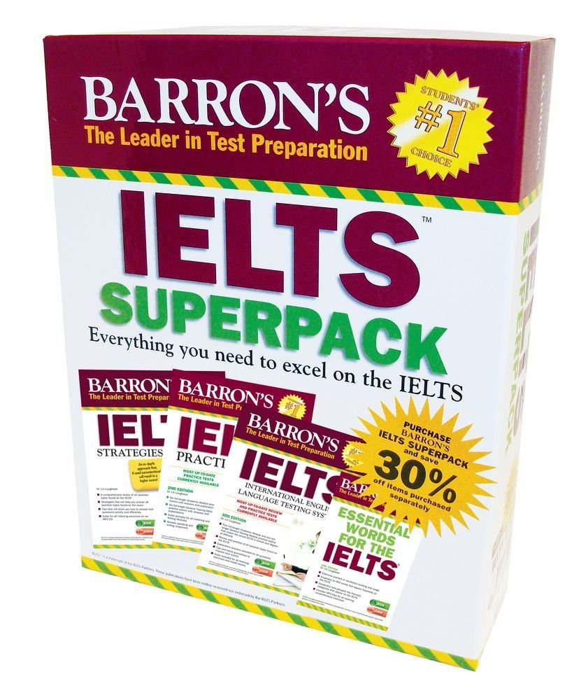 IELTS Superpack, 3rd Edition by Barrons Educational Series