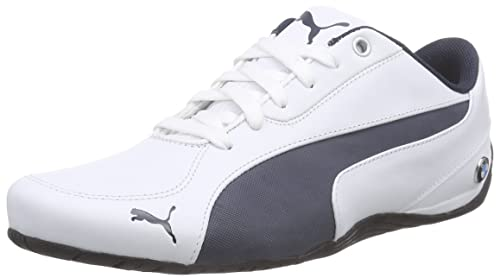 Puma Men s BMW Ms Drift Cat 5 Nm 2 White and BMW Team Blue Leather Safety 9d0417b24