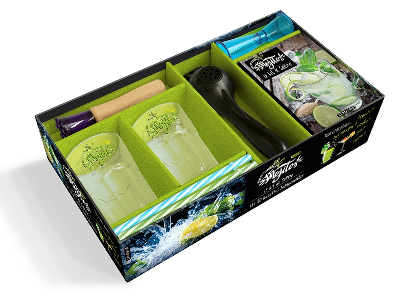 Mojito : le kit de survie (Coffrets Cuisine): Amazon.es ...
