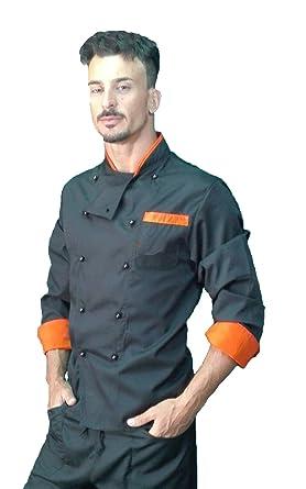 Chaqueta de Chef, para Hombre, Camisa de Cocinero, Chaqueta ...