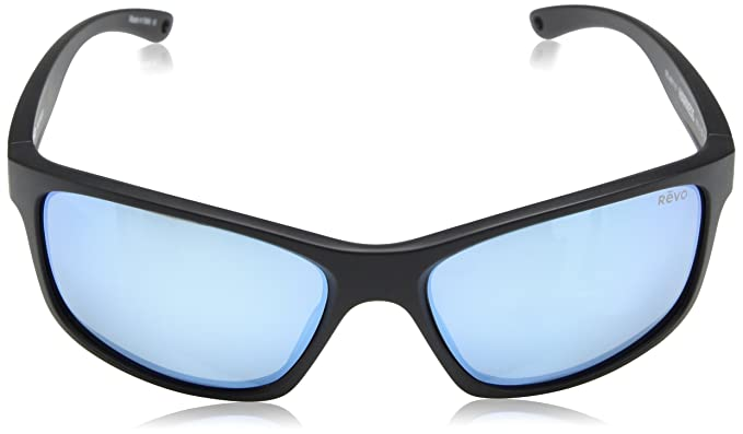 ef78e19b39 Amazon.com  Revo Unisex RE 4071 Harness Wraparound Polarized UV Protection  Sunglasses Rectangular