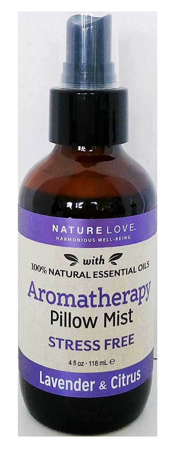 Nature Love - Stress Free - Aromatherapy Pillow Mist Spray - Lavender and Citrus