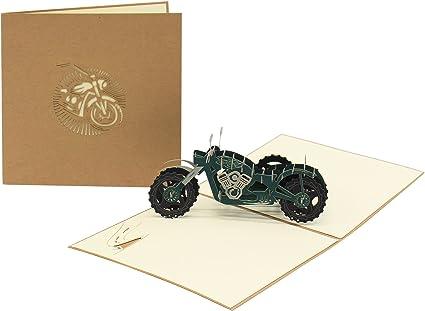 Tarjetas de felicitación 3D de papel creativo para manualidades ...