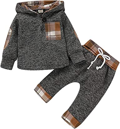 Toddler Baby Boy Outfits Hoodie Sweatshirts /& Jeans Clothes Set Fall Winter 6 9 12 18 24 Months