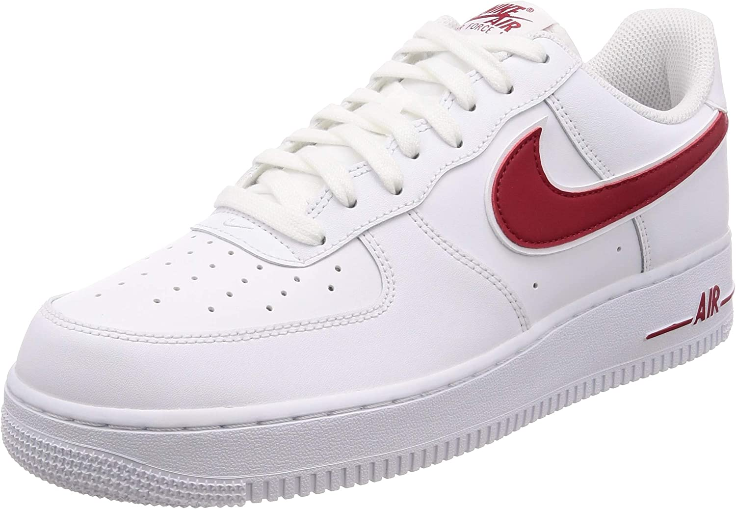 Scarpe e sneaker da uomo Nike Air Force 1 '07 3 White Gym Red