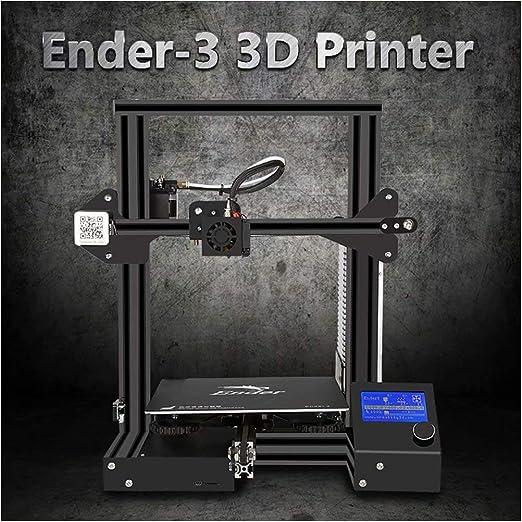 Laecabv Creality Ender 3 3D Printer Impresora 3D - Máquina de ...