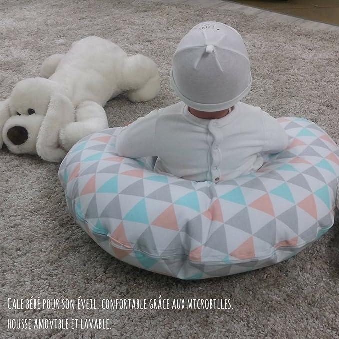 Babycalin Mini Coussin de Maternit/é 33 x 66 cm
