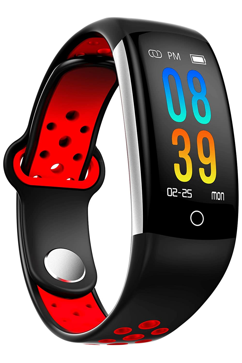 Amazon.com: Fitness Tracker Podometer Watch Heart Rate Blood ...
