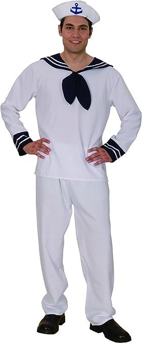 Disfraz marinero hombre - M: Amazon.es: Juguetes y juegos
