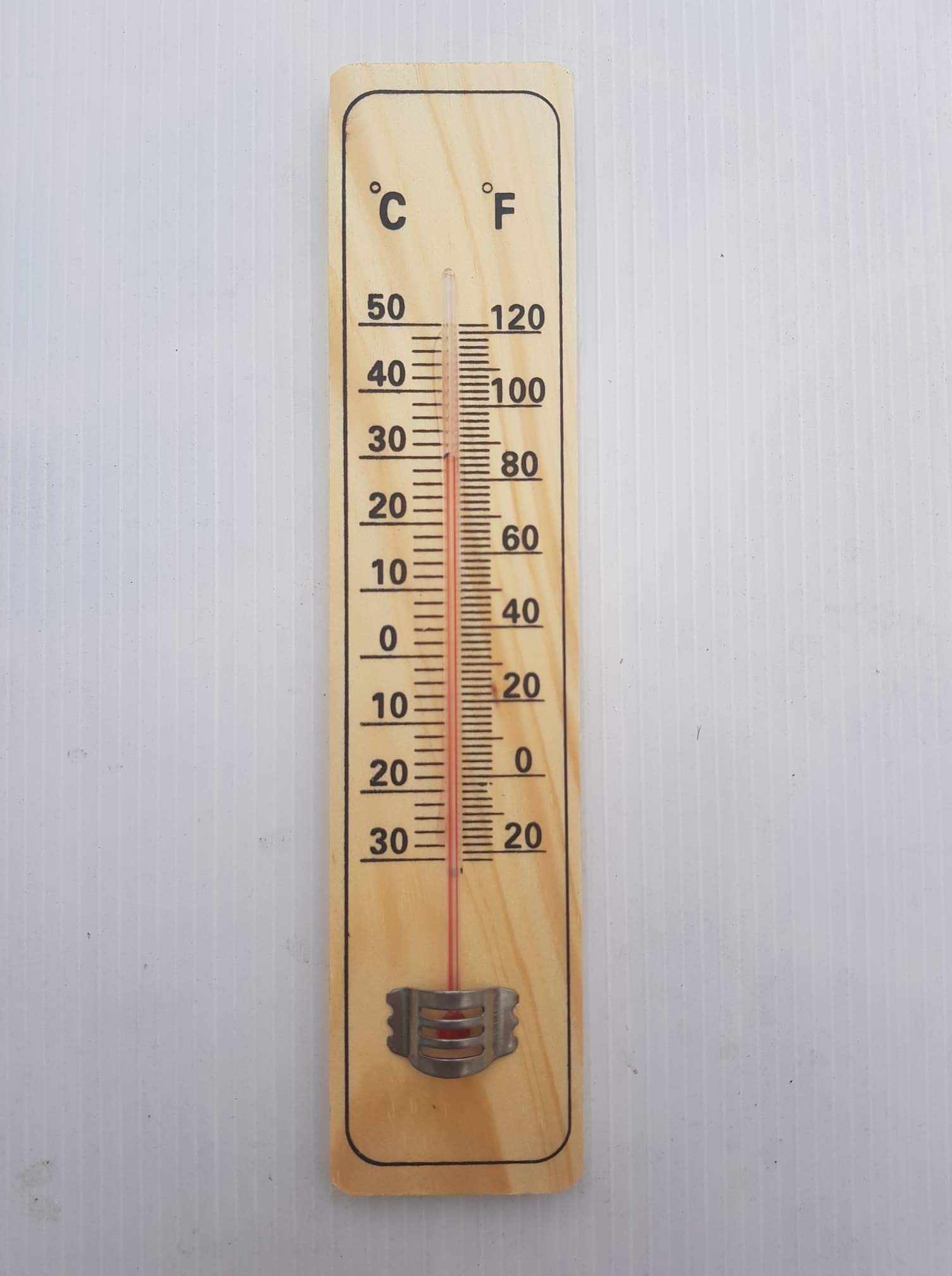Wooden Thermometers Home Decoration Indoor Thermometer Outdoor Real Wood