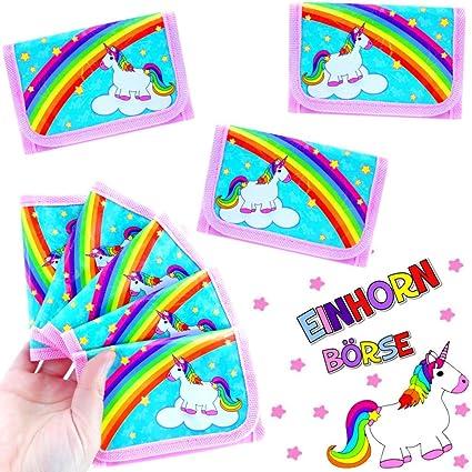 German Trendseller® 12 x monederos unicornio ┃fiestas ...