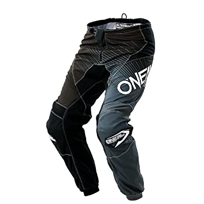 0108-144 - Oneal Element 2018 Racewear Motocross Pants 44 Black Gray