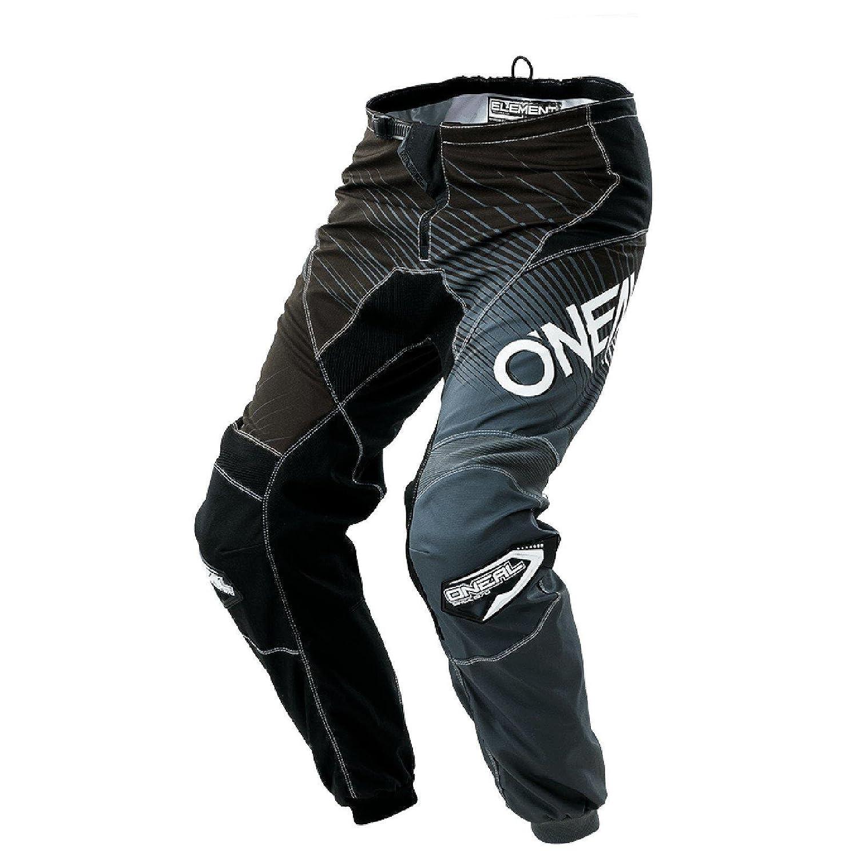 ONeill 0108-127 Oneal Element 2018 Racewear Youth Motocross Hose 28 schwarz grau