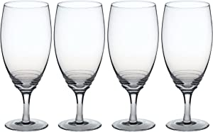 Mikasa Swirl Iced Beverage Glass (Set of 4), 22 oz