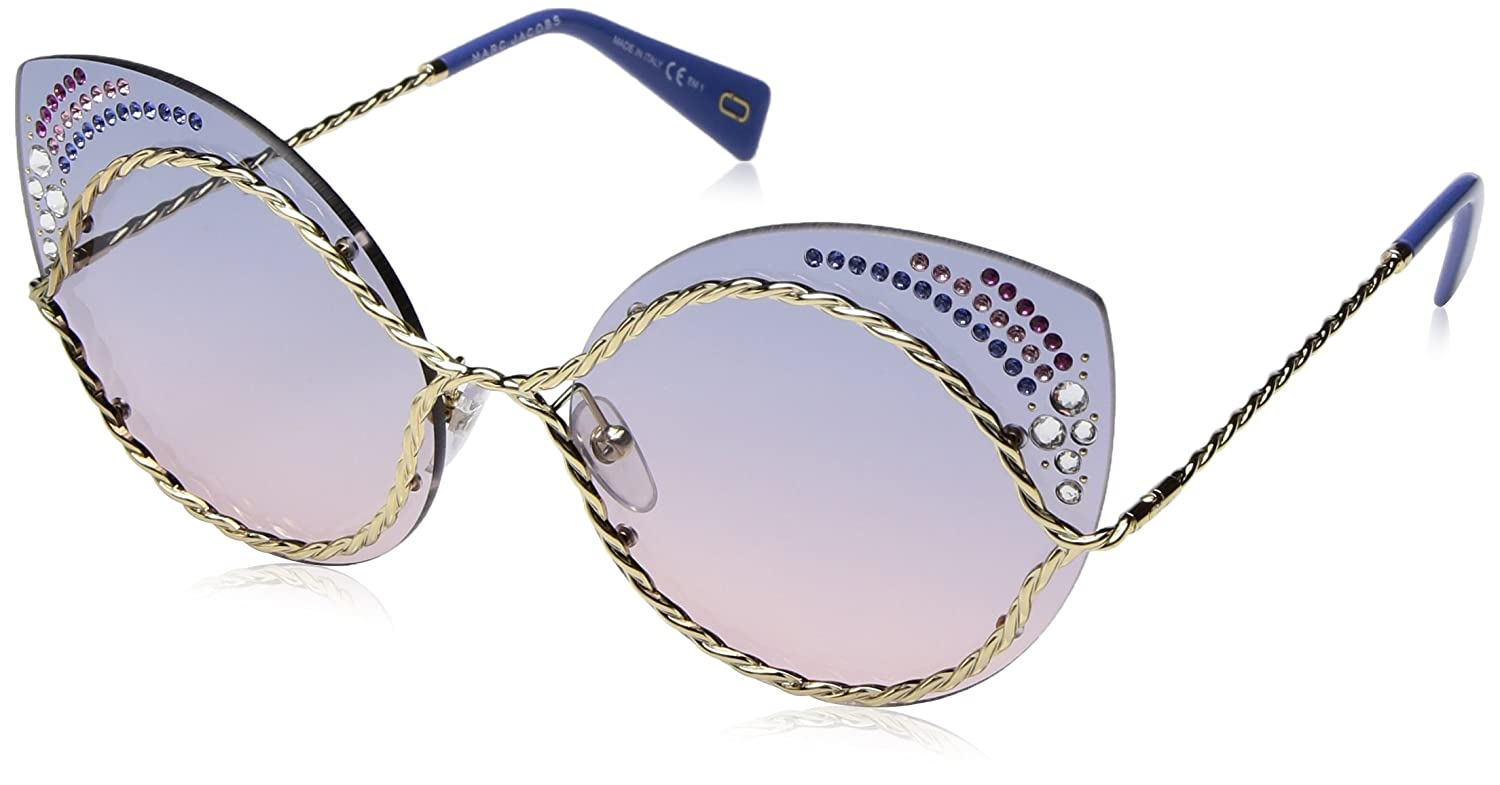 69d63afef367 Amazon.com: Marc Jacobs Women's Marc161sts Cateye Sunglasses, Blue Pink, 61  mm: Marc Jacobs: Clothing