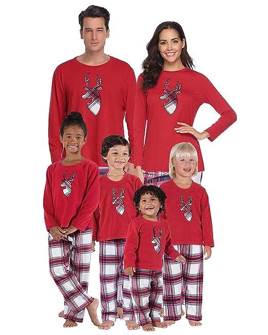 BIUBIU Christmas Holiday Family Matching Sleepwear Pajamas Set Couples  Pajamas Homewear Kids 140  Amazon.ca  Clothing   Accessories 45f4db2b6