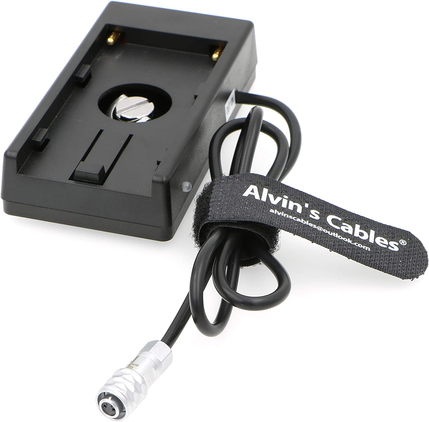 Alvins Cables BMPCC4K Blackmagic Cinema Camera BMCC 4K BMPCC Power Supply Mount Plate Adapter for Sony NP F970 Battery