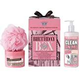 Soap And Glory Birthday Box Gift Set Inc. Clean On Me And Righteous Body Butter