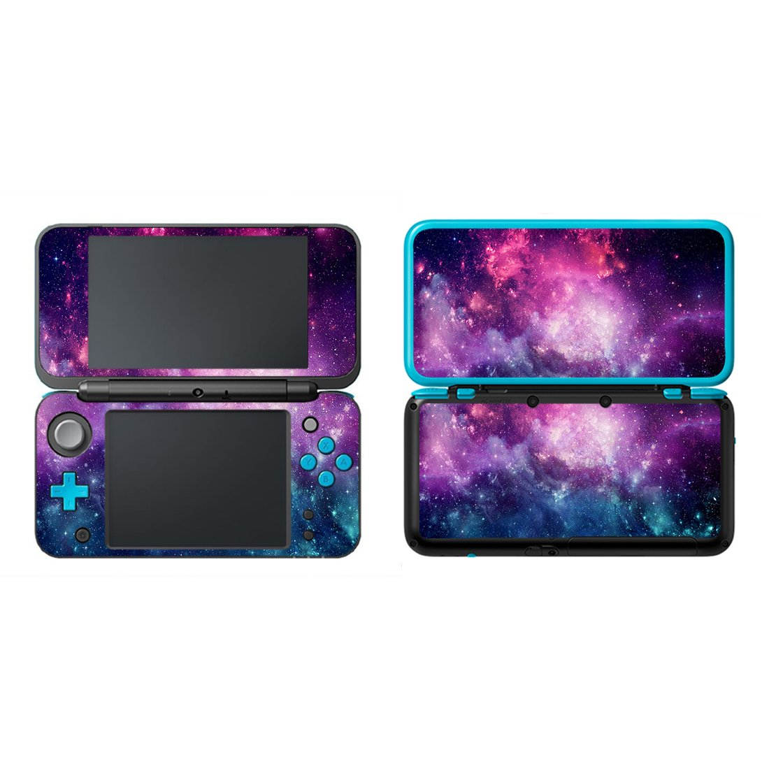 eSeeking Vinyl Cover Decals Skin Sticker for New Nintendo 2DS XL / LL - Aubergine Cosmic