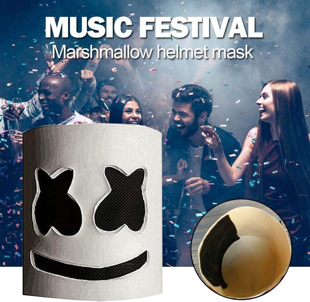 belukies Festival de música Marshmallow Headgear, máscara de ...