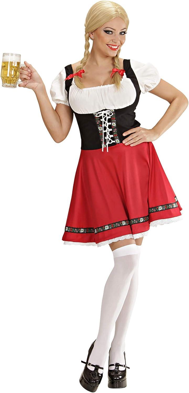 WIDMANN Widman - Disfraz de Heidi para mujer, talla L (56773 ...