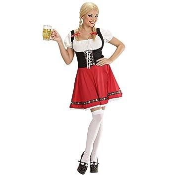 WIDMANN Widman - Disfraz de Heidi para mujer, talla M (S/56772 ...